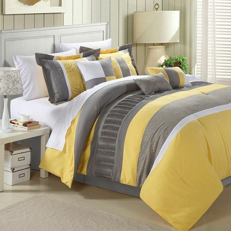 Rast Comforter Set With Images Comforter Sets Yellow