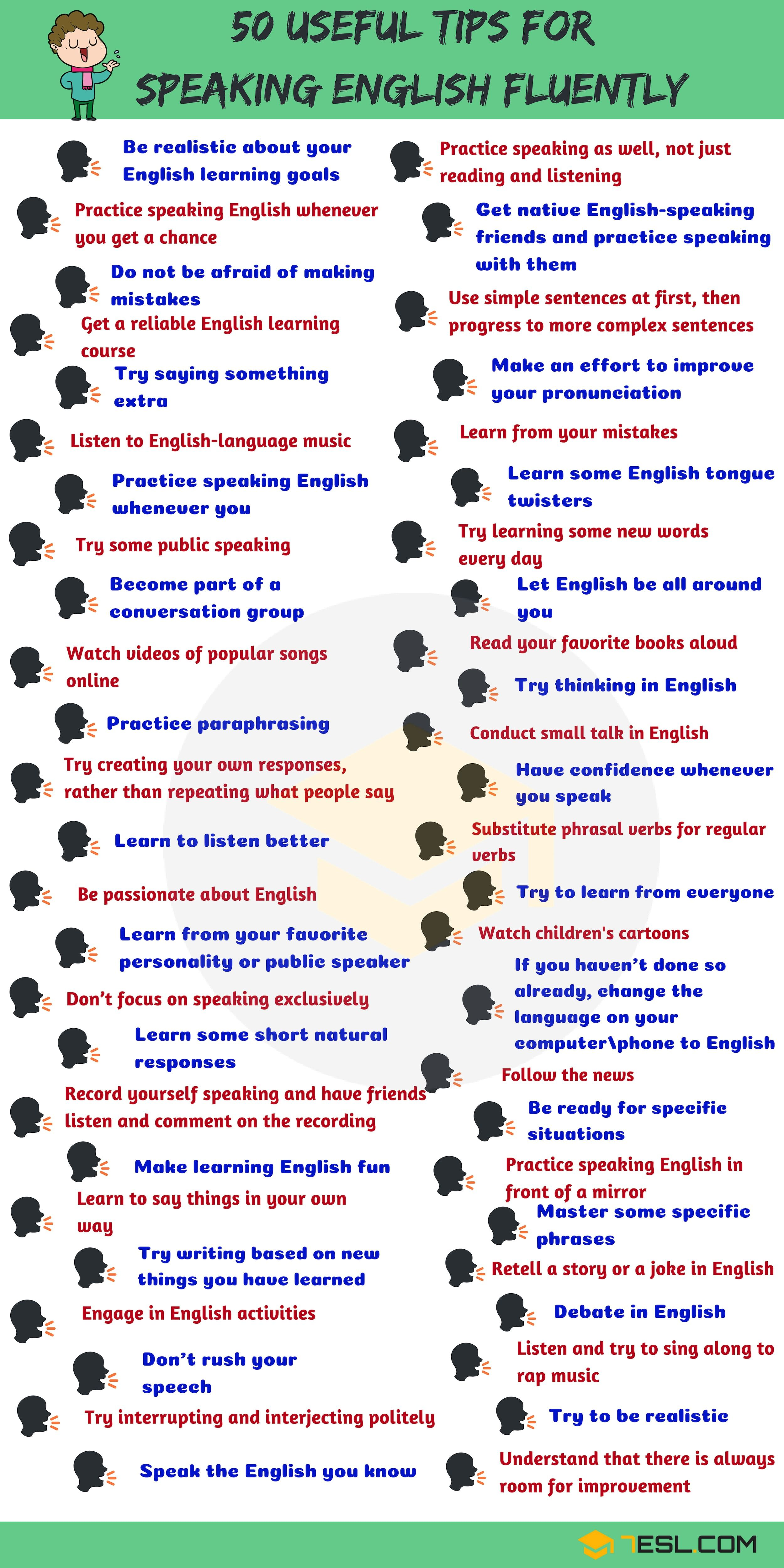 How To Speak English Fluently 50 Simple Tips