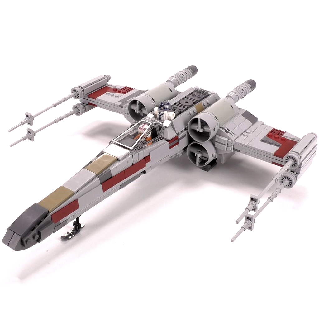 X Wing Starfighter Minifig Scale X Wing Starfighter Starfighter Lego Star Wars Sets