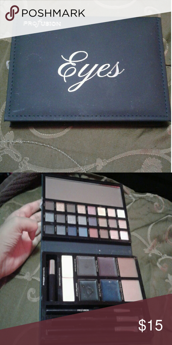 Eyes make up kit Used only once, New and comes with