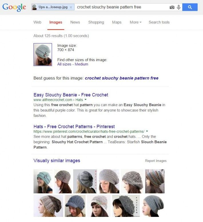 How To Find A Pattern With Only A Picture Google Reverse Image