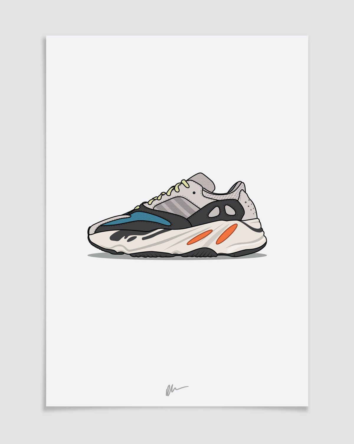 4463e57c35fc1 Image of ☆ NEW ☆ Yeezy Wave Runner 700