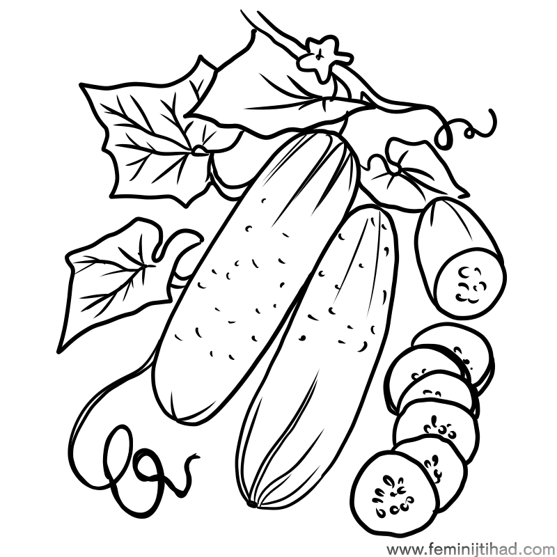 Printable Cucumber Coloring Pages Free Coloring Sheets Animal Coloring Pages Cartoon Coloring Pages Coloring Pages