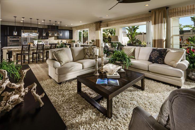 shea homes san diego | beach house- plan 4 living room. open floor