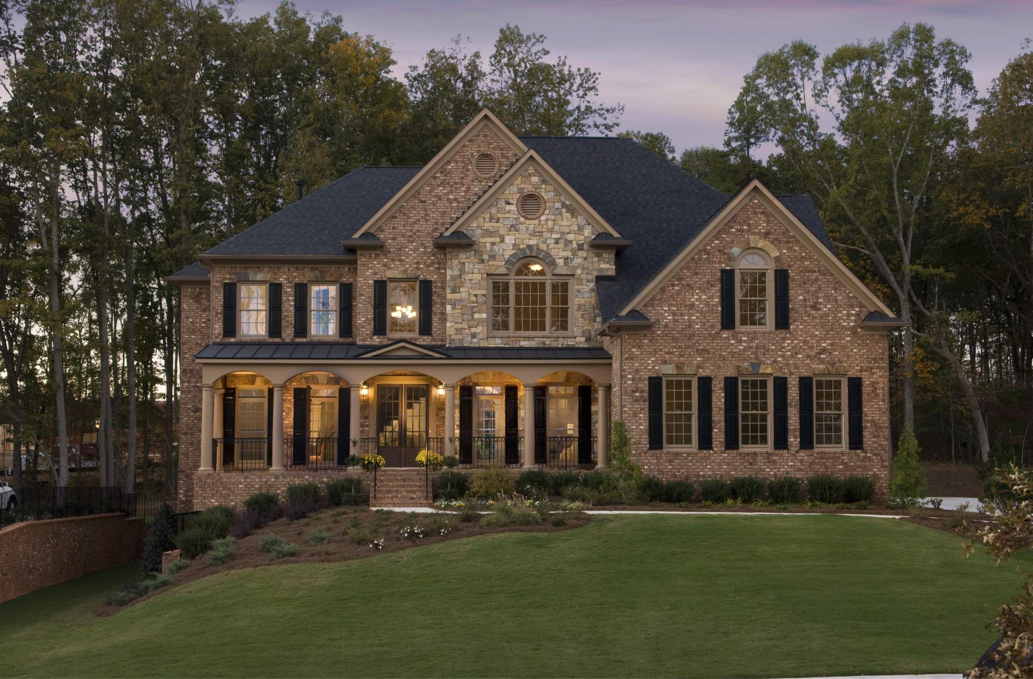 house made out of stone and bricks John Wieland Sale of