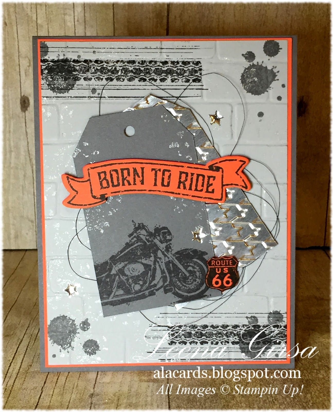 A La Cards: Born to Ride