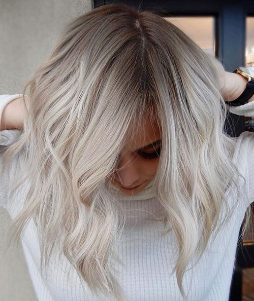 27 New Ash Blonde Short Hair Ideas for 2019 - Fashionre #ashblondebalayage
