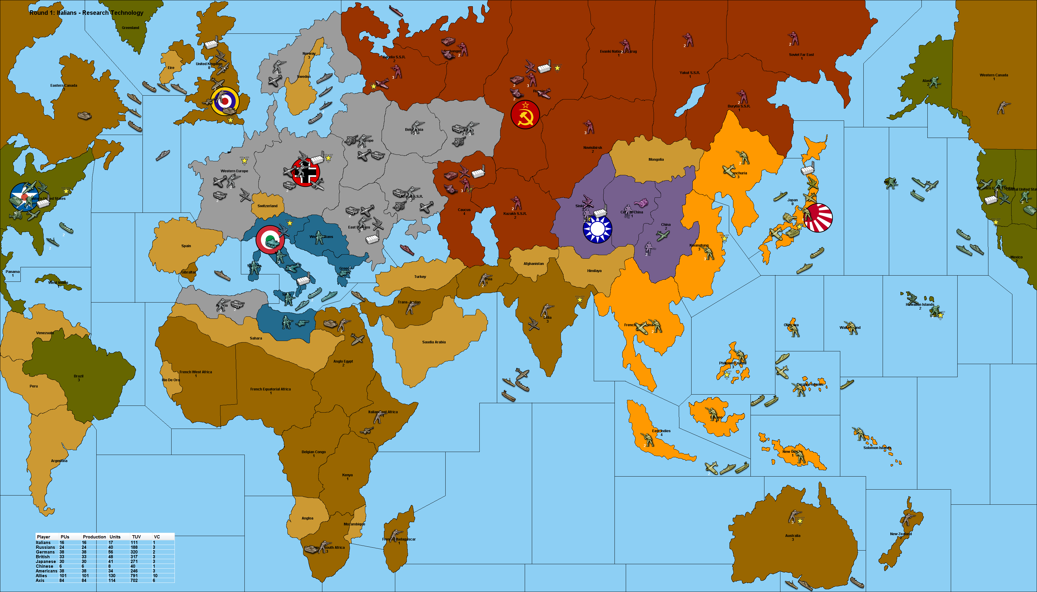 POSv3 War, World war ii, World war