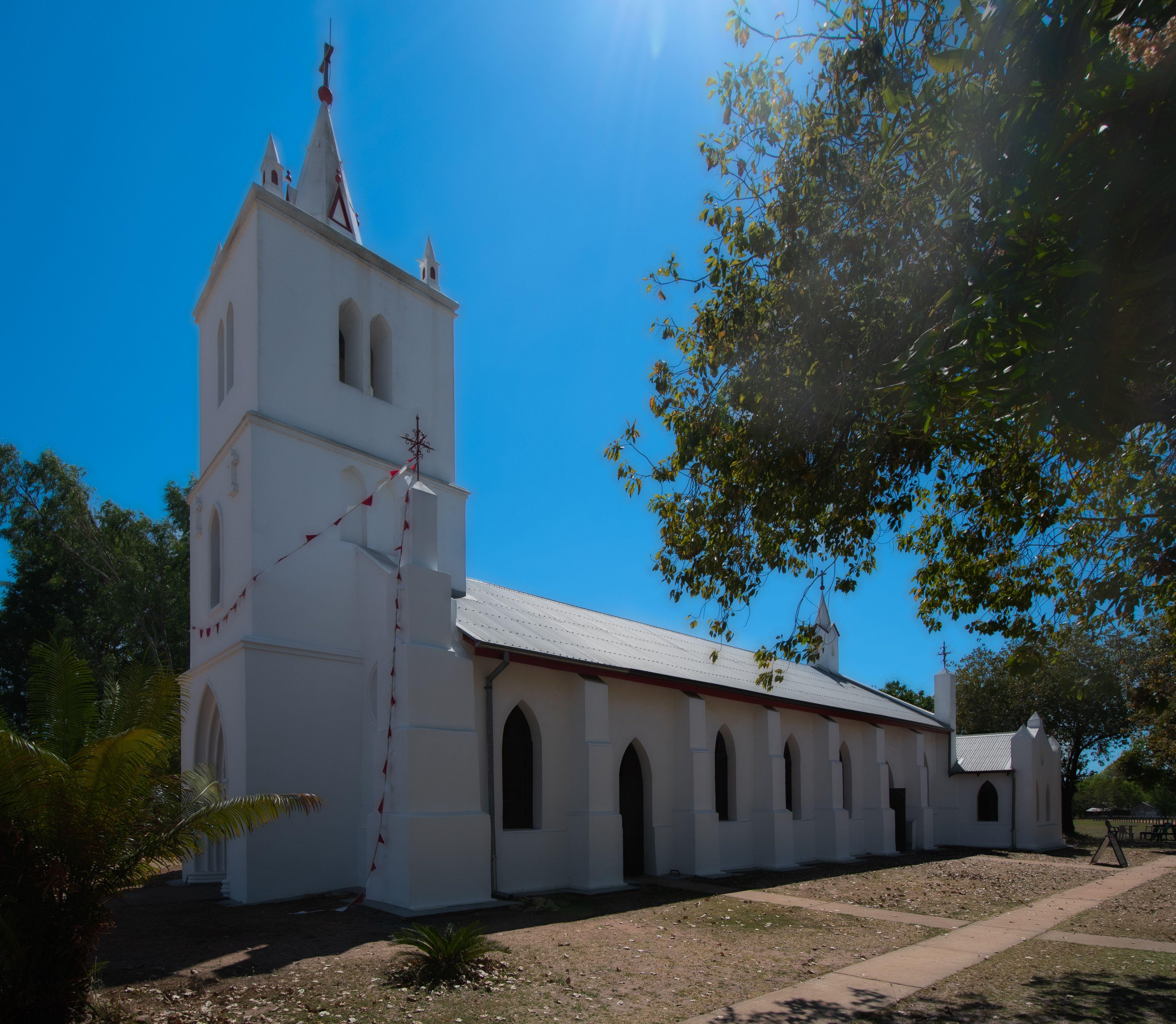 Sacred Heart Church At Beagle Bay When World War I Broke Out In