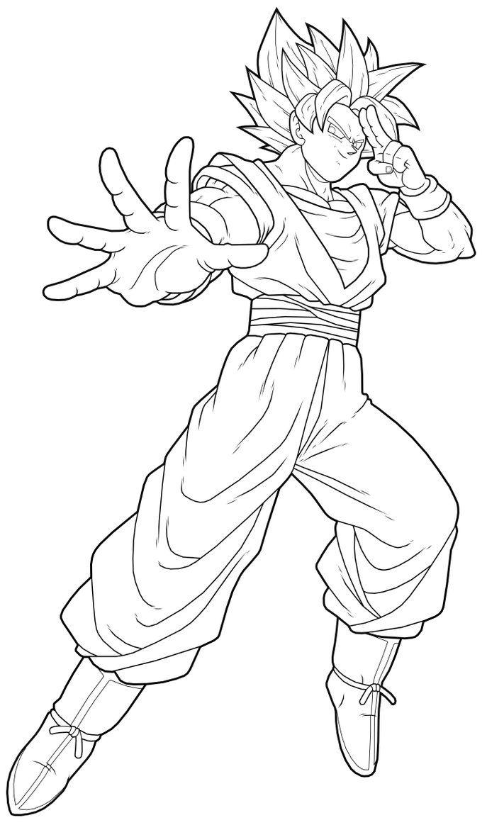 Goku Drawings  Goku Ssj2 By Drozdoo On Deviantart