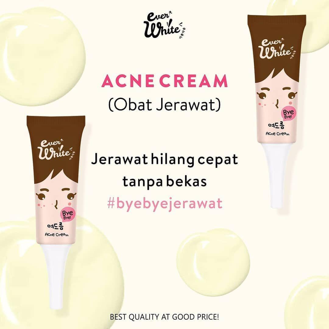 Cream Wajah Menghilangkan Bekas Jerawat