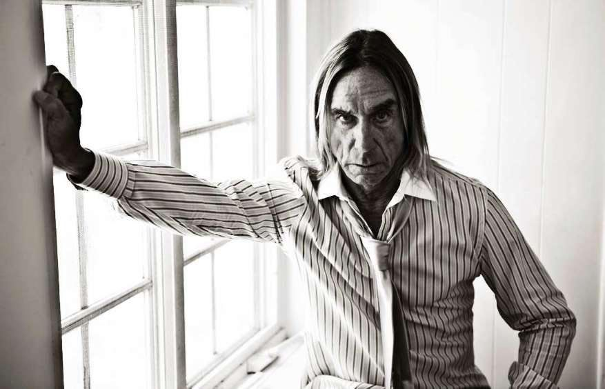 Iggy Pop for Elle France photographed by Caitlin Cronenberg.
