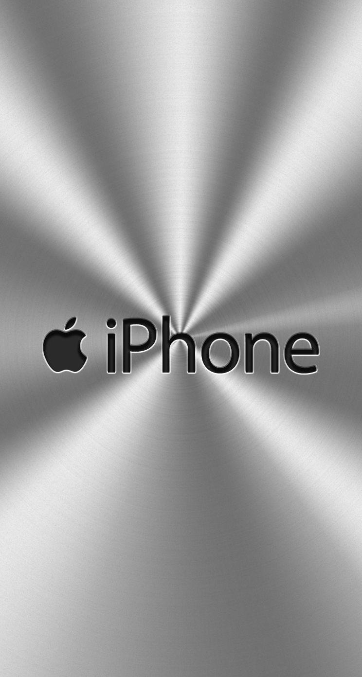 人気13位 メタルシルバー アップルの壁紙 壁紙 Iphone 用壁紙