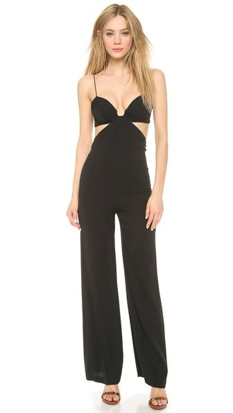 Olcay Gulsen Open Side Jumpsuit - with a blazer? GLAM! | Fab ...