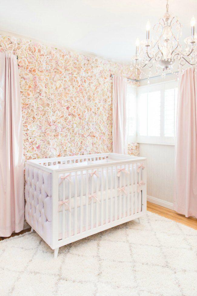 Flores para decorar la habitacin del beb Pinterest Beb