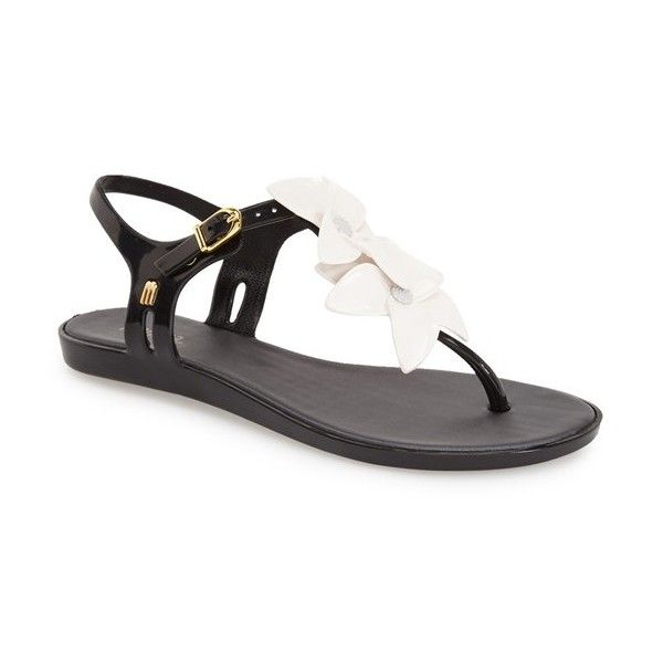 7f481deeae43 Melissa  Solar Garden  Sandal ( 85) ❤ liked on Polyvore featuring shoes
