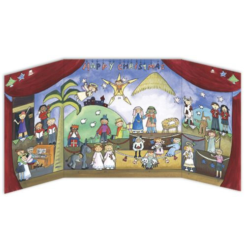 Children's Nativity Advent Calendar From Phoenix Trading