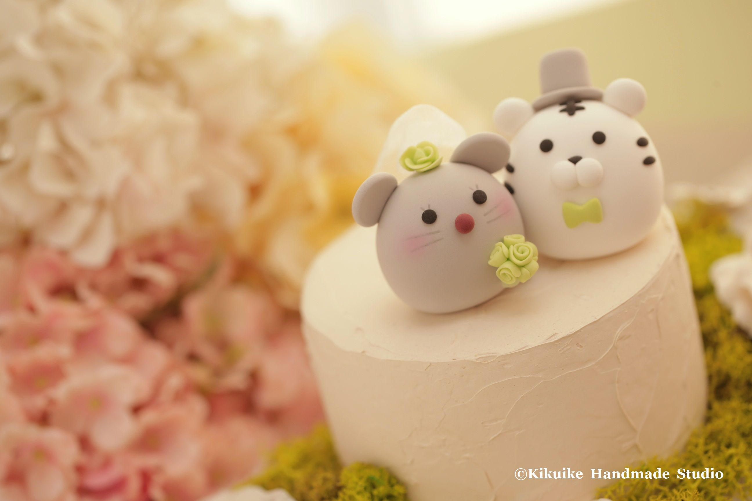 Tiger and rat wedding cake topper---Chinese Zodiac wedding cake ...