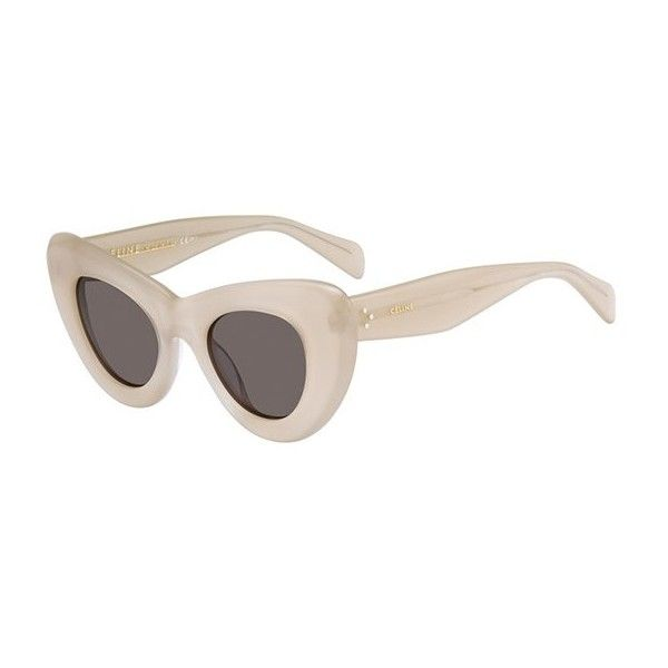 4a6179aab239 Buy Celine CL Papillon sunglasses in Transparent Antique Pink online today  from SmartBuyGlasses.