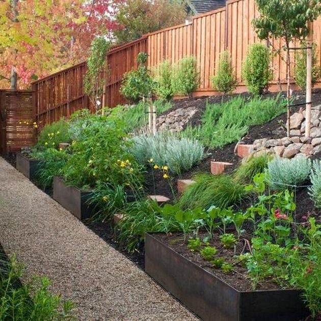 Awesome Backyards With Pools: Awesome Sloped Backyard Landscaping Ideas