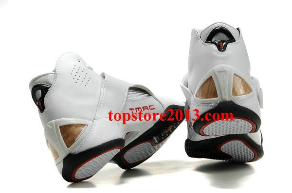 new concept 3a928 5f33a Adidas T-Mac 5 Shoes White-Black-Red Hot Sale