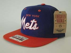 American Needle New York Mets  Snapback Hat available at www.thestashonline.com - Promo code MIC for 15% off entire purchase.