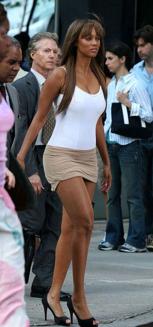 Tyra Banks Mini Skirt
