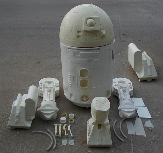 Astromech Kit Parts - DreamScheme Studios