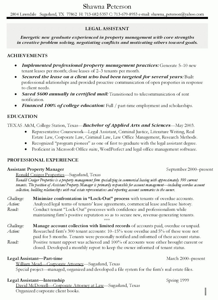 Assistant Property Manager Resume Template Advanced Systemcare V607160  Dramovlea  Pinterest