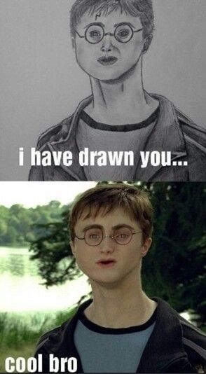 Bad Fan Art Harry Potter Funny Harry Potter Memes Funny Pictures
