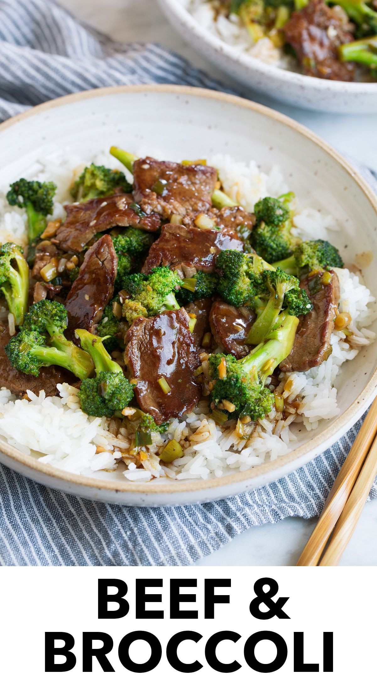 Beef and Broccoli recipe - this hearty Asian dish is made with tender strips of hearty steak and nutritious, fresh steamed broccoli, then it's finished with delicious sweet and savory sauce. It's a recipe everyone can agree on and one everyone will look forward to after a long day! #beef #broccoli #chinese #recipe #beefandbroccoli