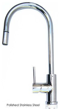 Front Lever Alfi Brand Ab2028 Pss Polished Stainless Steel Single Hole Pull Down Kitchen Fau Leon Faucets By Are Made