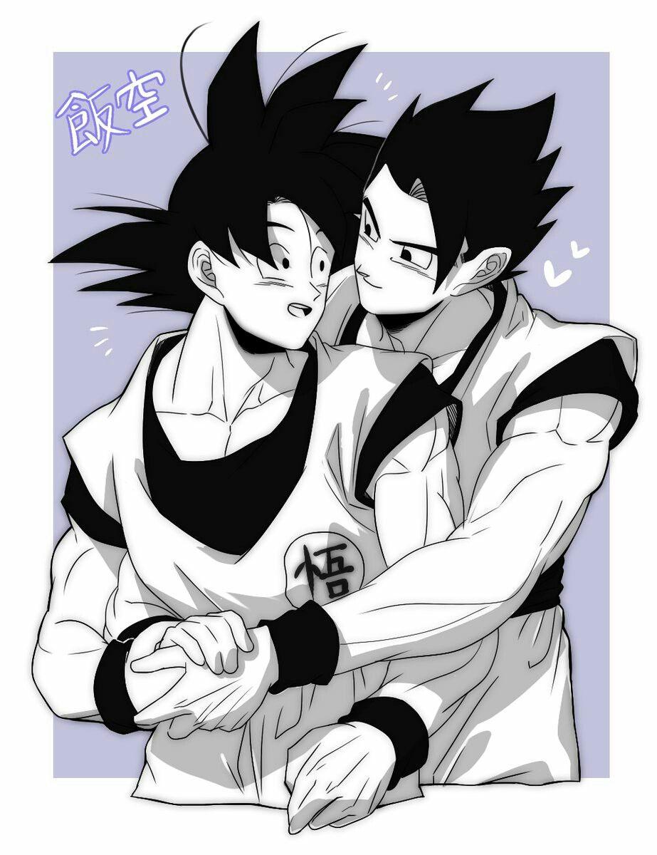 Cute Father And Son Dragon Ball Super Funny Dragon Ball Super Manga Goku And Gohan
