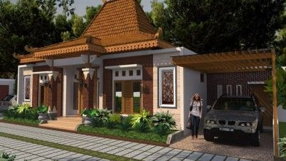 98 Contoh Desain Rumah Etnik Yang Bisa Anda Contoh