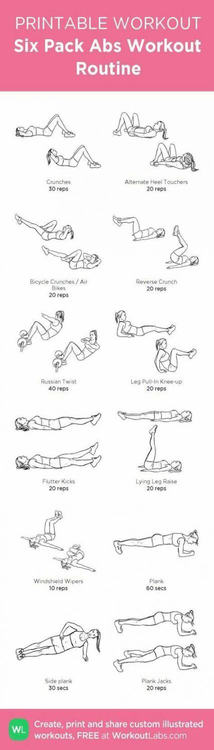 17 trendy fitness inspiration abs flat tummy ab exercises #fitness #exercises