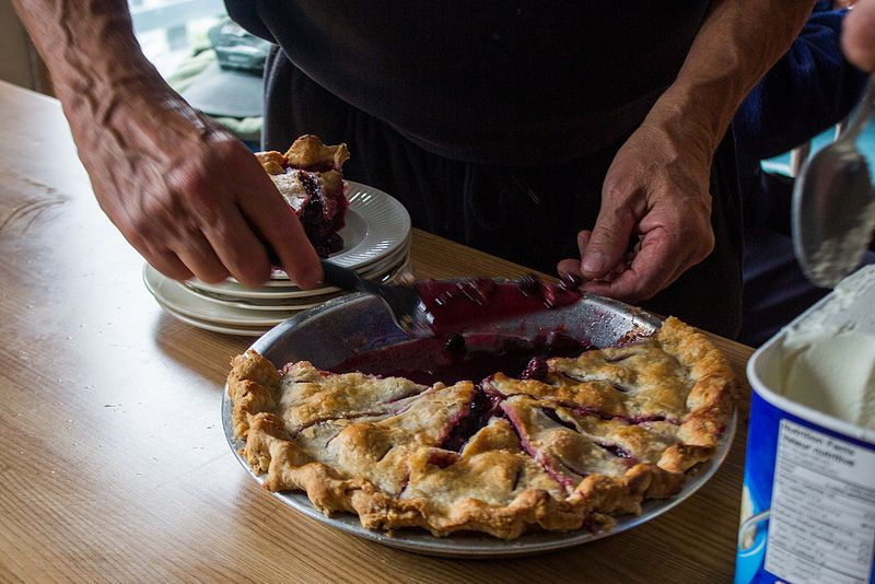 don't forget the pie innards