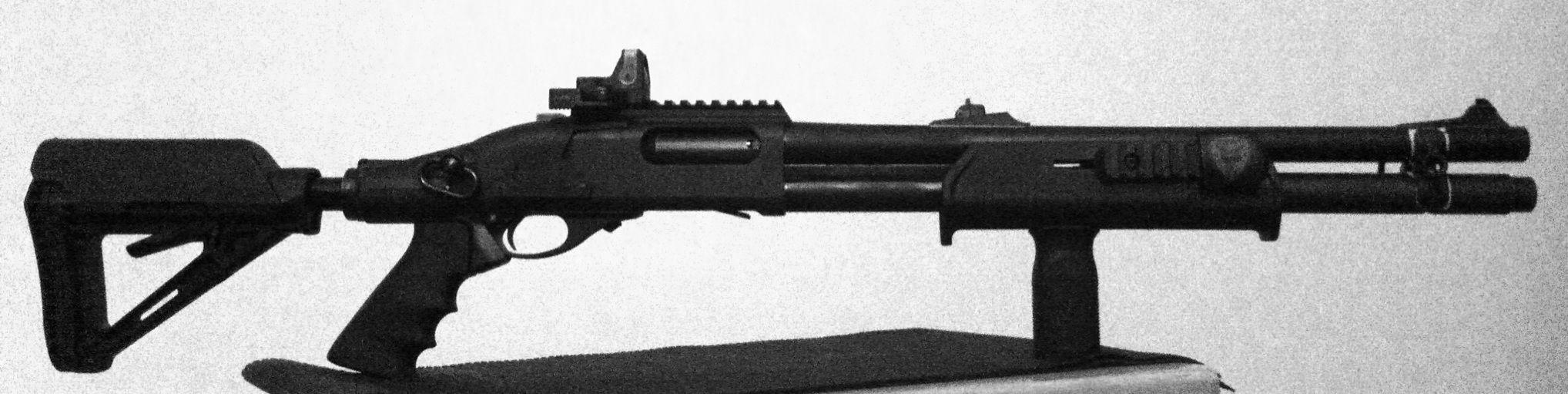 Remington 870 Tactical Magpul Furniture