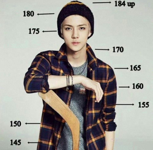 ''How tall are you next to Sehun?'' exo sehun, im literally as tall as his broad shoulders. Ugh! Im so short!