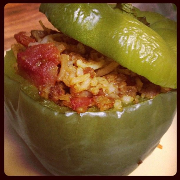 Vegan Stuffed Bell Peppers Boil 4 Large Green Peppers For 7 10min Until Soft But Not Too Soft Vegan Stuffed Bell Peppers Stuffed Peppers Vegetarian Recipes