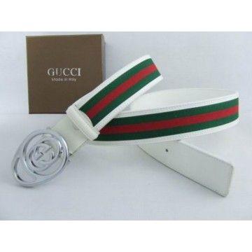 cda9082d82f Cheap Replica Gucci Belts Sale White 090