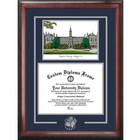 gerogetown university 14 inch x 17 inch spirit graduate diploma frame - Diploma Frames Walmart