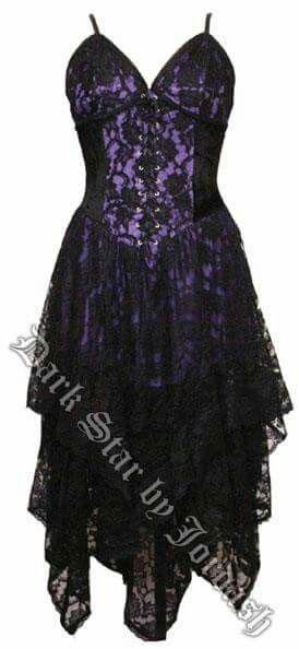Black And Purple Wardrobe 2 In 2018 Pinterest Dresses Corset