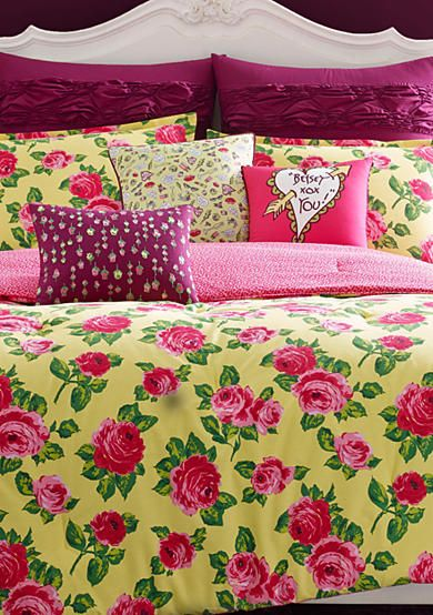 Betsey Johnson Betsey S Garden Bedding Collection Betsey Johnson Bedding Comforter Sets King Comforter Sets