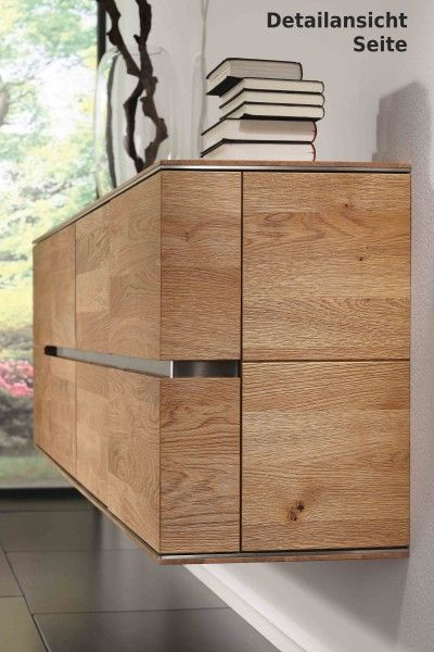h ngeboard sideboard h ngeschrank wandschrank asteiche eiche massiv ge lt esszimmer m bel. Black Bedroom Furniture Sets. Home Design Ideas