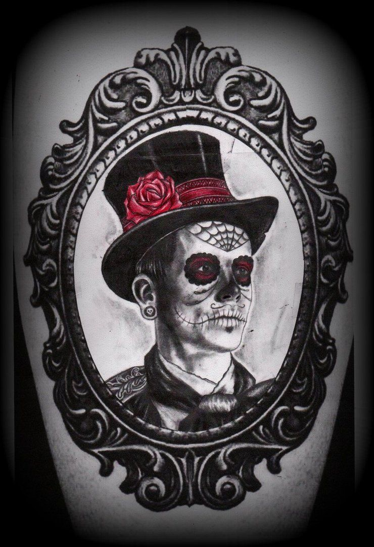 day_of_the_dead_man_in_frame_tattoo_deisgn_by_slabzzz-d5awymf.jpg 740×1,080 pixels