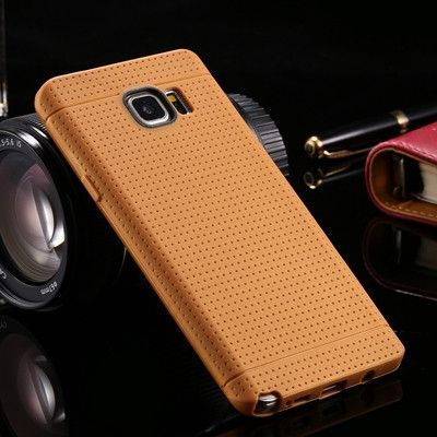 For Samsung Note 5 Cases Ultra Thin Soft TPU Gel Rubber Protective Case For Samsung Galaxy Note 5 N9200 Slim Honeycomb Dot Cover