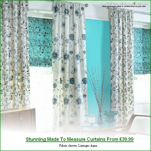 Made to Measure Curtains, Roller Blinds and Roman Blinds Direct ...