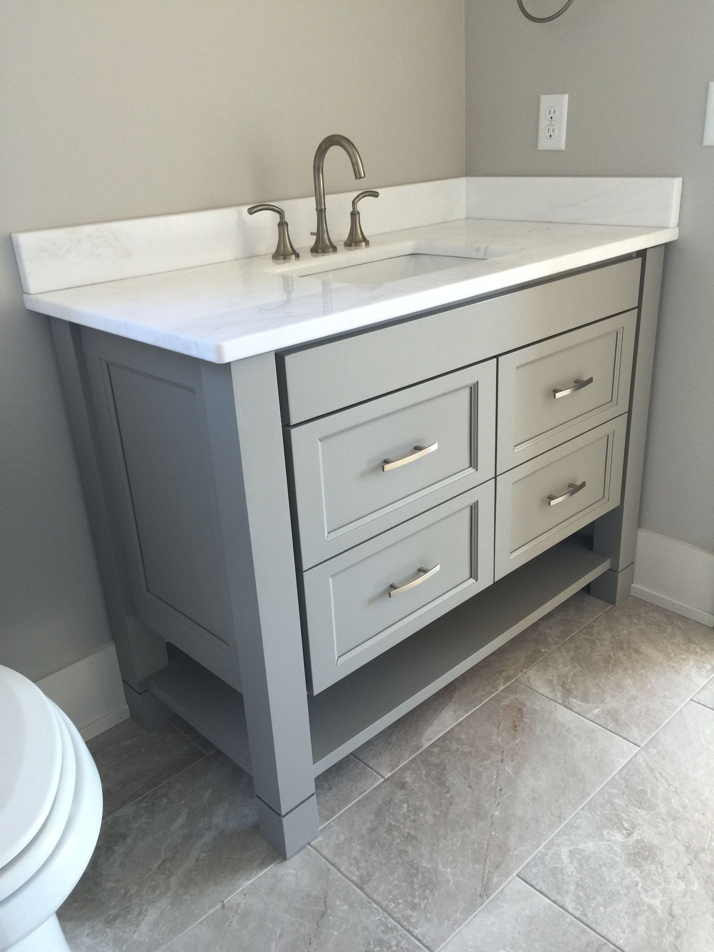 Custom Bath Vanity by Stylecraft Custom Wood Products 864 ...