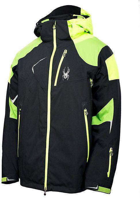 Spyder skiing jackets mens