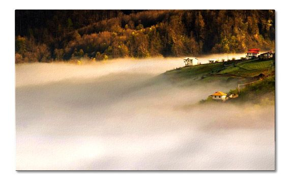 Village Above the Clouds
